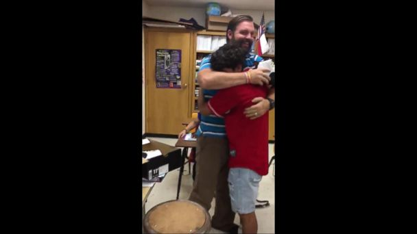 Foster Child Gives Back After Being Inspired by Teacher Who Helped Him and the Family Who Adopted Him