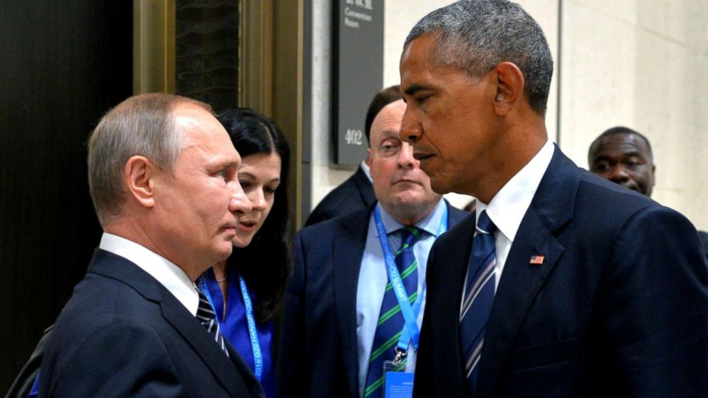 President Obama Says He Believes Russian President Vladimir Putin Was Behind The Dnc Hacked Emails Video Abc News
