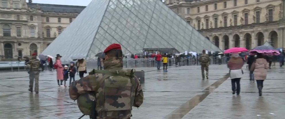 VIDEO: The Louvre Reopens on High Alert After Terrorist Attack