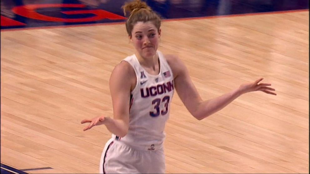 watch e8e36 1f7dd UConn basketball star Katie Lou Samuelson sets record
