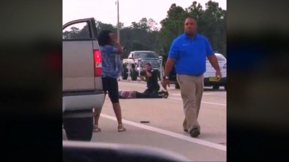 Video shows passer-by shooting Florida deputy's attacker