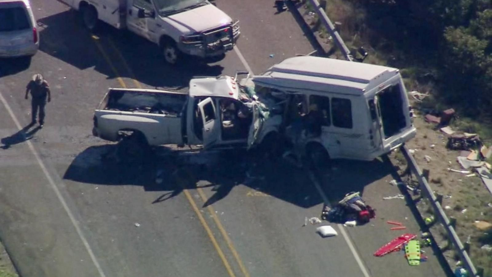 87-year-olds among 13 killed in Texas church bus crash: 'My