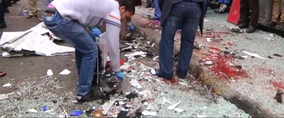 VIDEO: Suicide bombings hit two Christian churches in Egypt
