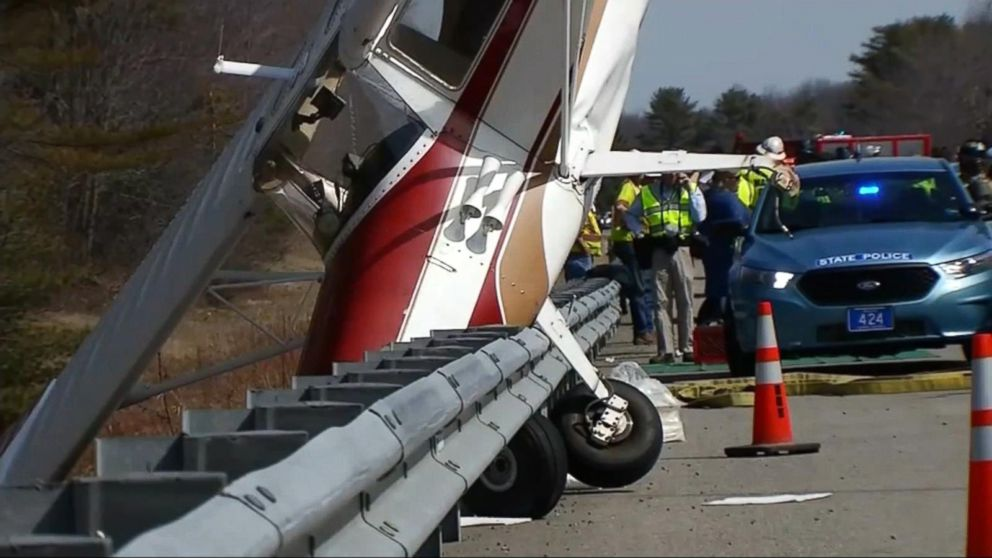 Pilot walked away after plane crashes nose first on Maine