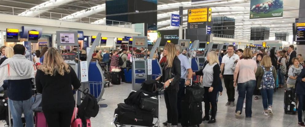 VIDEO: Airline outage causes massive delays for British Airways travelers