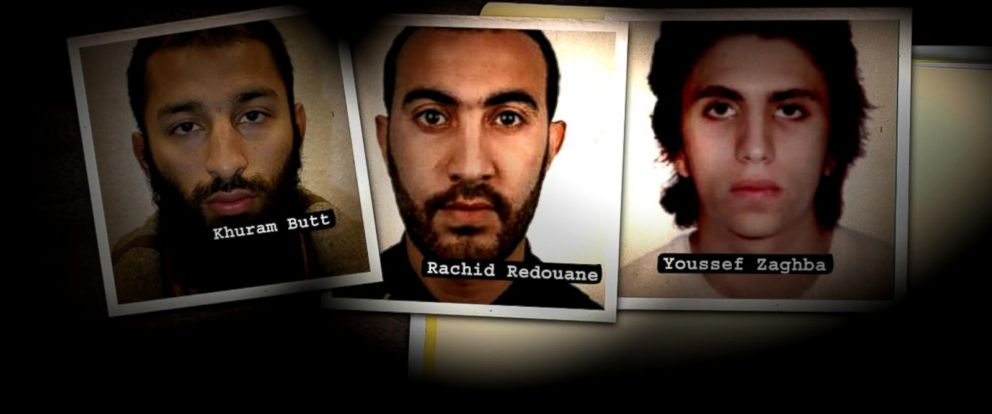 VIDEO: All 3 London Bridge attackers have been identified