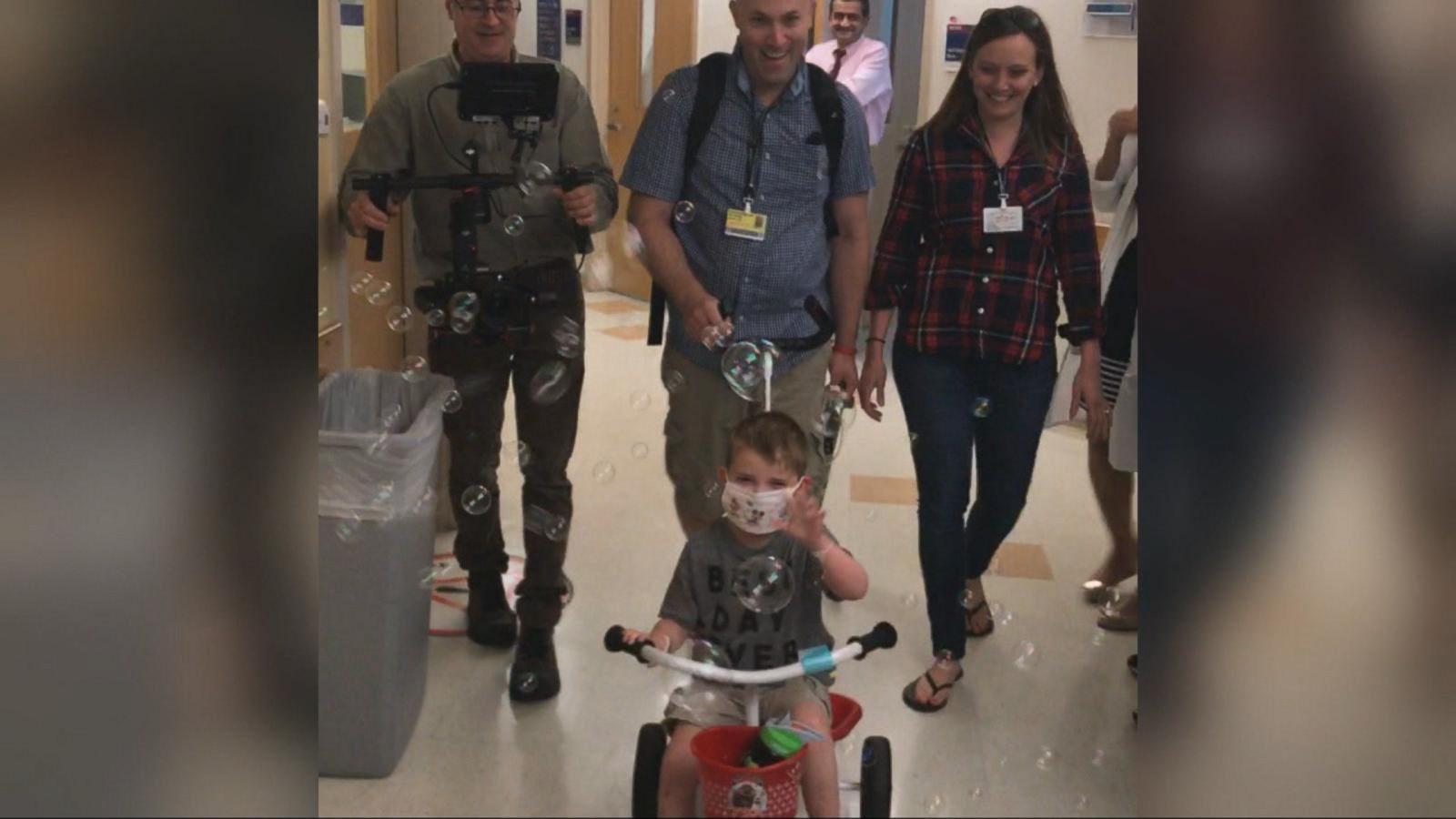 5-year-old heart transplant recipient Ari Schultz dies - ABC