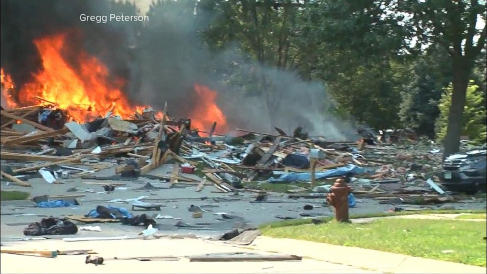 Violent home explosion leaves couple critically injured in Lincoln, Nebraska