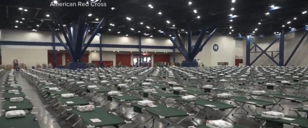 VIDEO: 30,000 people without shelter in Houston