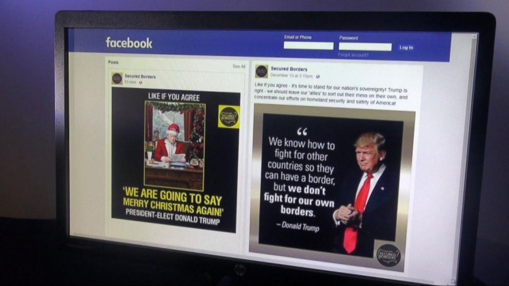 Russian Generated Facebook Posts Pushed Trump As Only Viable Option