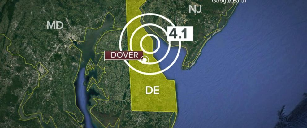 VIDEO: Earthquake hits East Coast