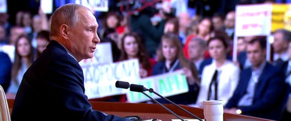 VIDEO: Putin calls Russia collusion made-up spy mania