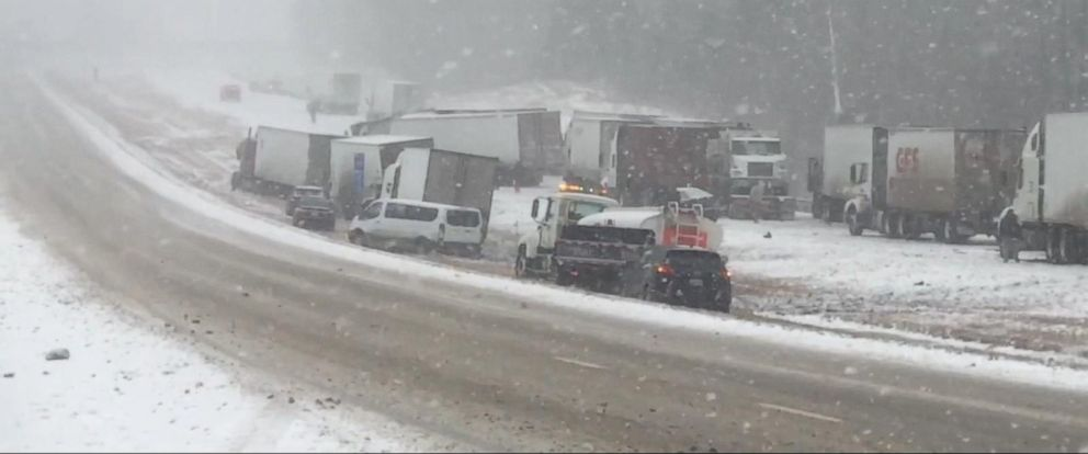 VIDEO: Winter storm brings snow, ice, sleet and rain across the US