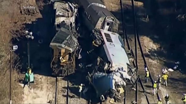 Amtrak train breaks apart on trip to Boston