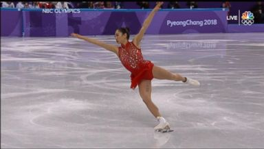 1a4ba3f2f7 Now Playing: US figure skater makes history, landing triple axel at Olympics