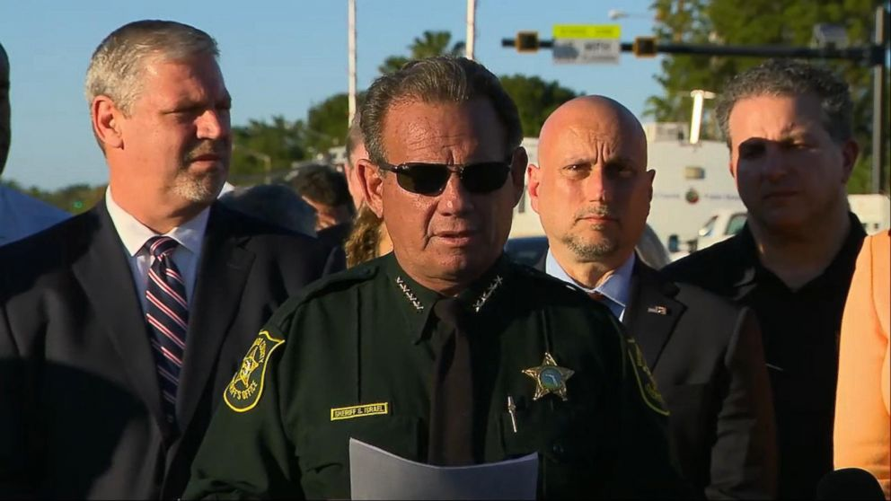 Florida sheriff honors 17 victims of deadly school ...