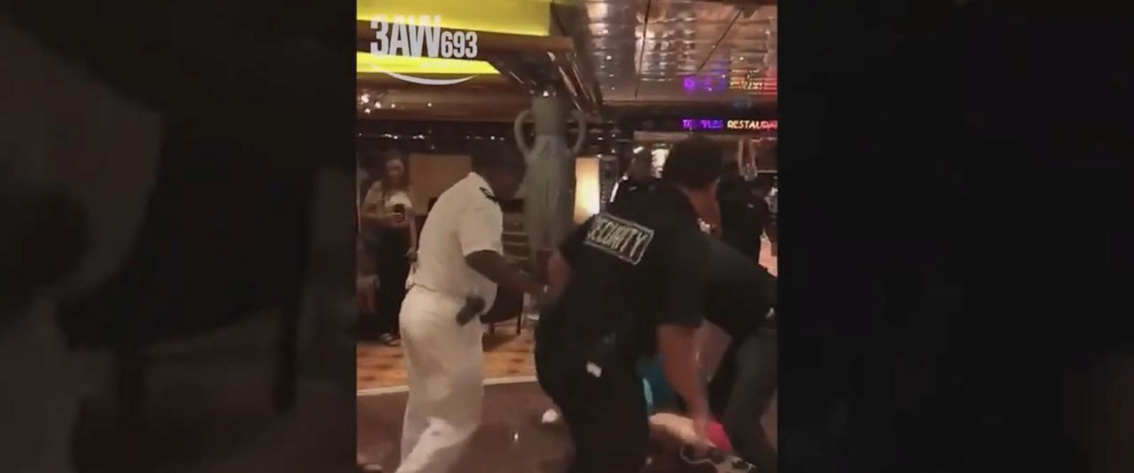 VIDEO: Authorities probing possible criminal charges in Carnival cruise brawl