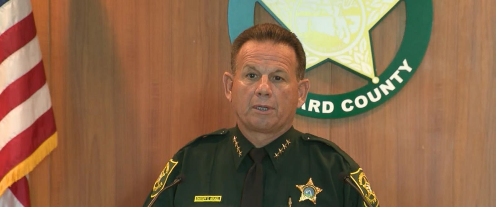 VIDEO: Armed school officer stood outside for 4 minutes doing 'nothing' during massacre: Sheriff