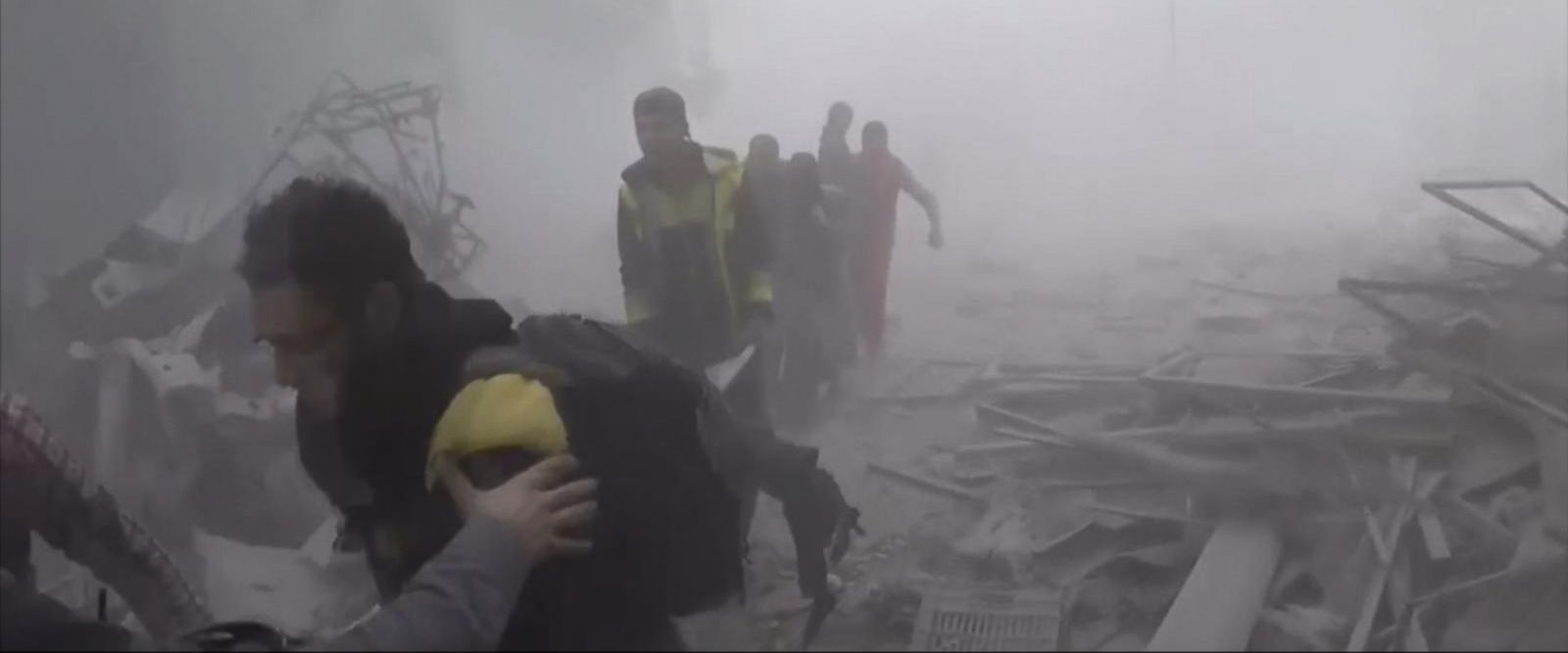 VIDEO: United Nation voting in favor of 30-day ceasefire on Syria
