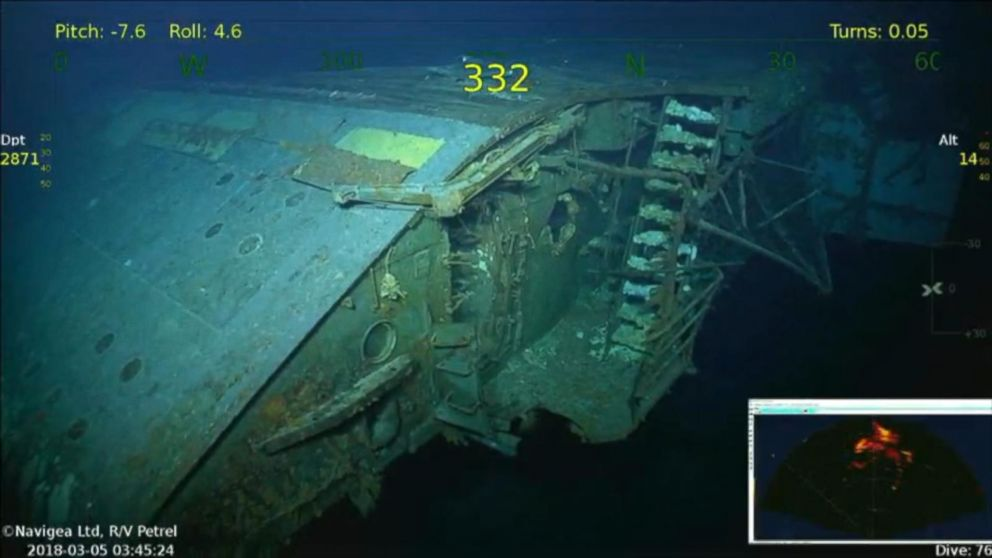 USS Lexington: aircraft carrier scuttled in 1942 is ...