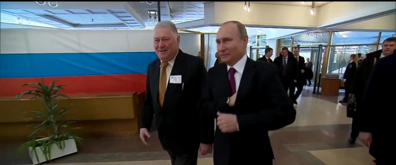 VIDEO: Election day in Russia proves triumphant for Putin