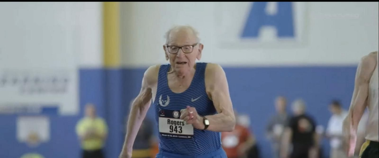 VIDEO: Centenarians break world records at track meet