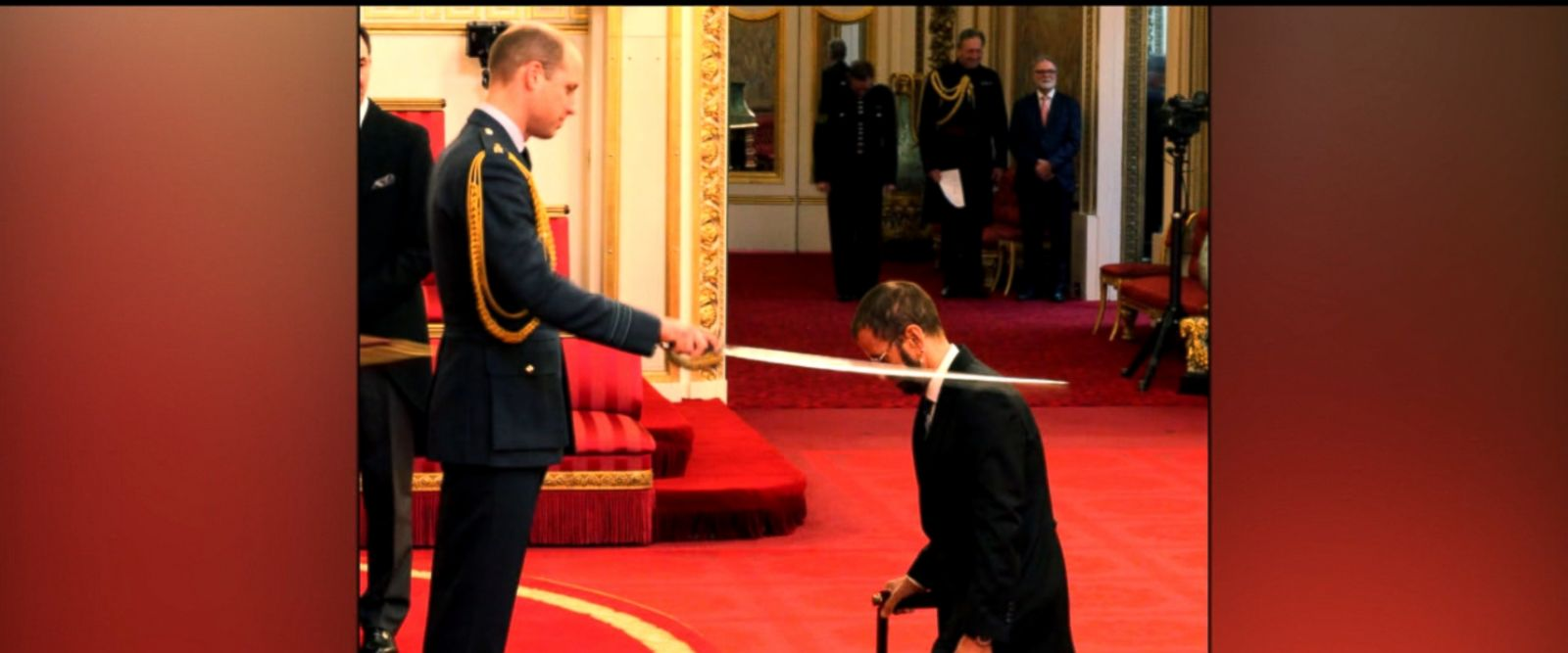 His bandmate Sir Paul McCartney was knighted in 1997.