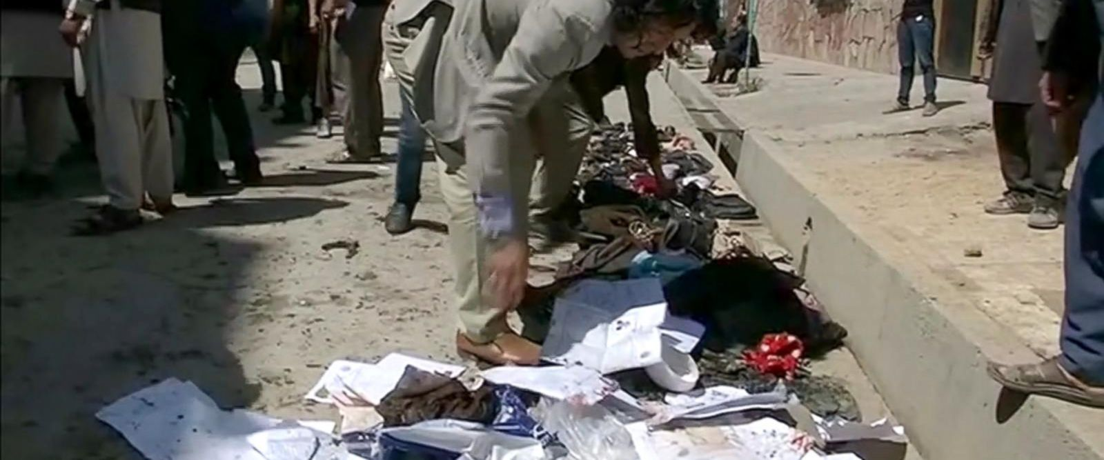 VIDEO: Suicide bomber in Kabul, Afghanistan, claims the lives of more than 50 people