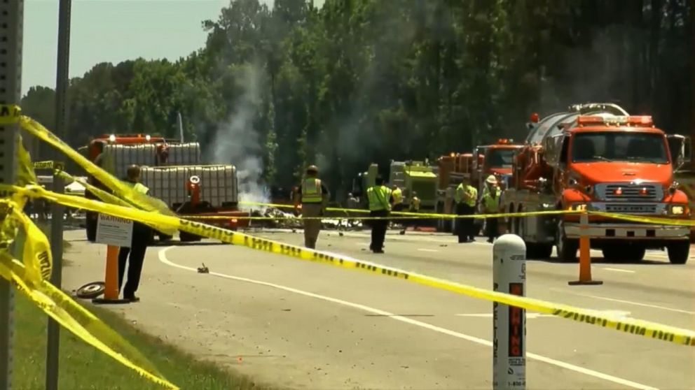 At least 5 dead after military plane crash in Savannah