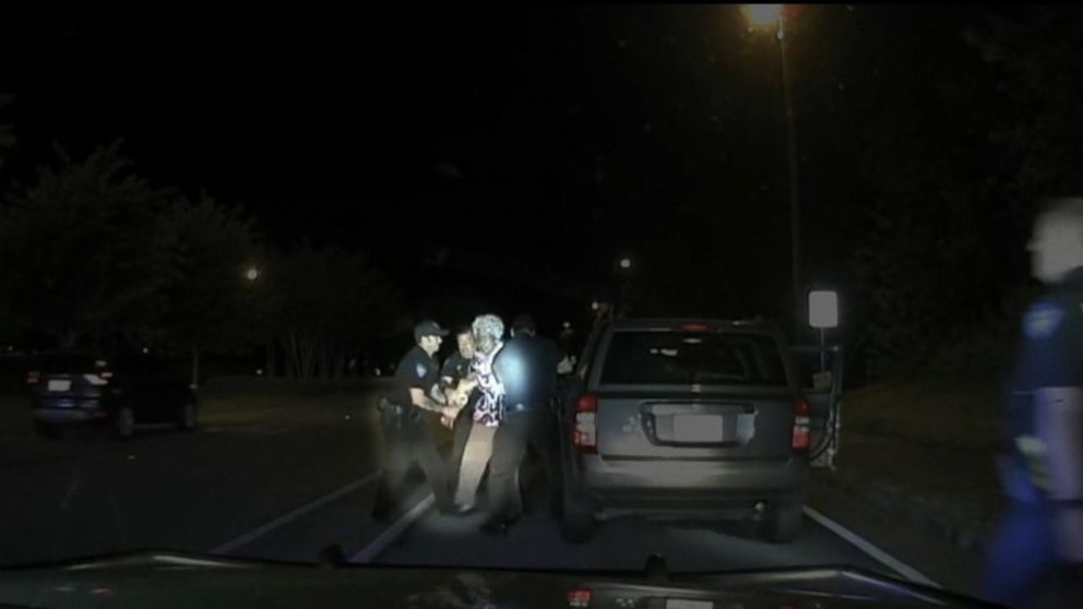 VIDEO: Video shows police officer dragging 65-year-old woman during traffic stop