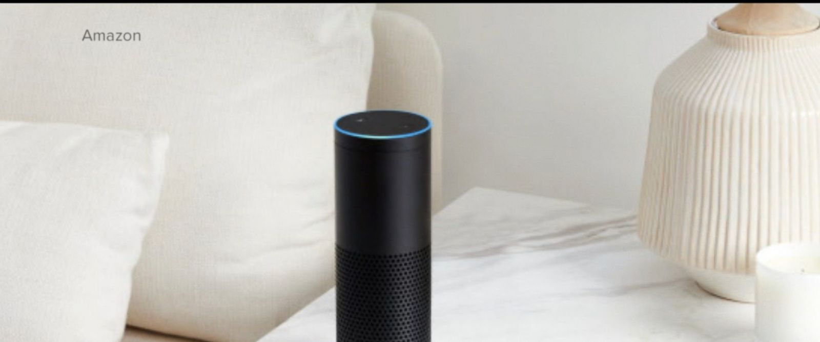 """The company said the Echo had woken up after hearing a word that sounded like """"Alexa."""""""