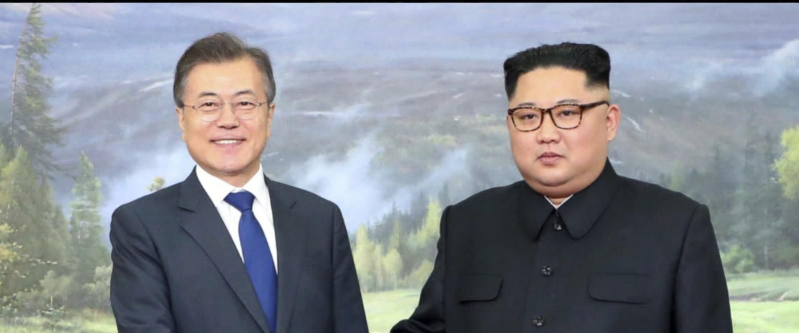 VIDEO: Kim Jong Un and South Korean president Moon Jae-in embrace warmly in meeting