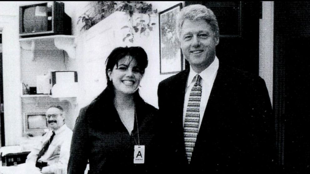 Image result for bill clinton monica lewinsky