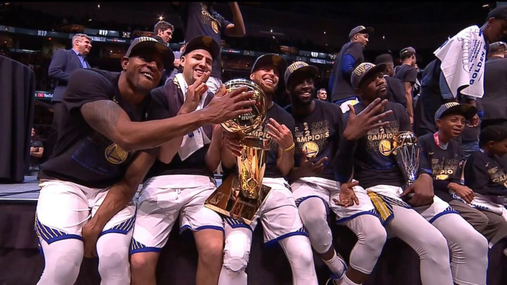 02178f19d73 The Golden State Warriors won the 2018 NBA Finals Video - ABC News