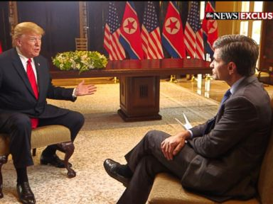 WATCH: Donald Trump one-on-one with George Stephanopoulos