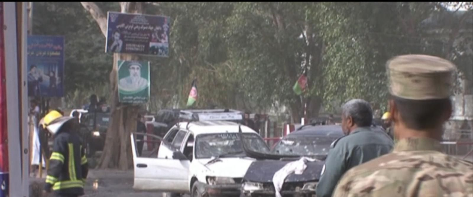 VIDEO: 2 suicide bombings end 3 days of peace in Afghanistan