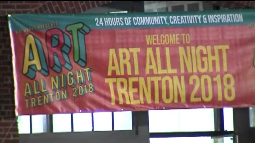 At least 1 dead, 22 injured in shooting at all-night Trenton art