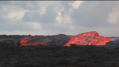 New images of lava gushing through Hawaii's big island and towards several homes Video 180622 wnt index volcanic river hpMain 16x9 384