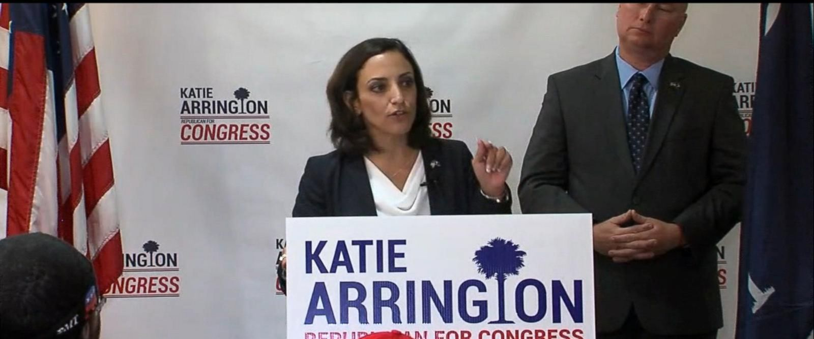 VIDEO: Congressional candidate Katie Arrington injured in car crash