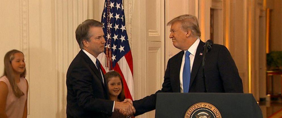 VIDEO: President Trump announces Brett Kavanaugh as 2nd SCOTUS pick