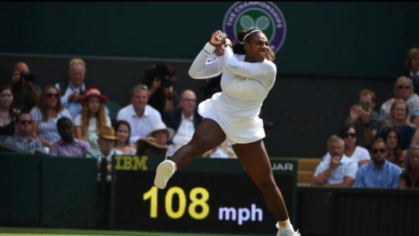 Serena Williams lost to Angelique Kerber in the Wimbledon final