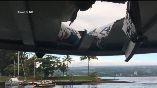 23 hurt after basketball-size lava bombs rain down on Hawaii tour boat