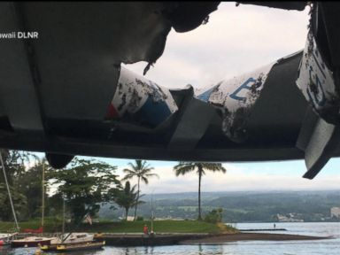 WATCH: 23 hurt after basketball-size lava bombs rain down on Hawaii tour boat