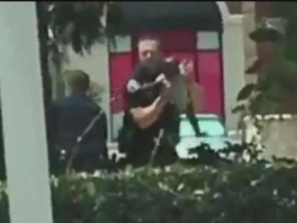 WATCH:  Alleged bank robber used baby as human shield: Police