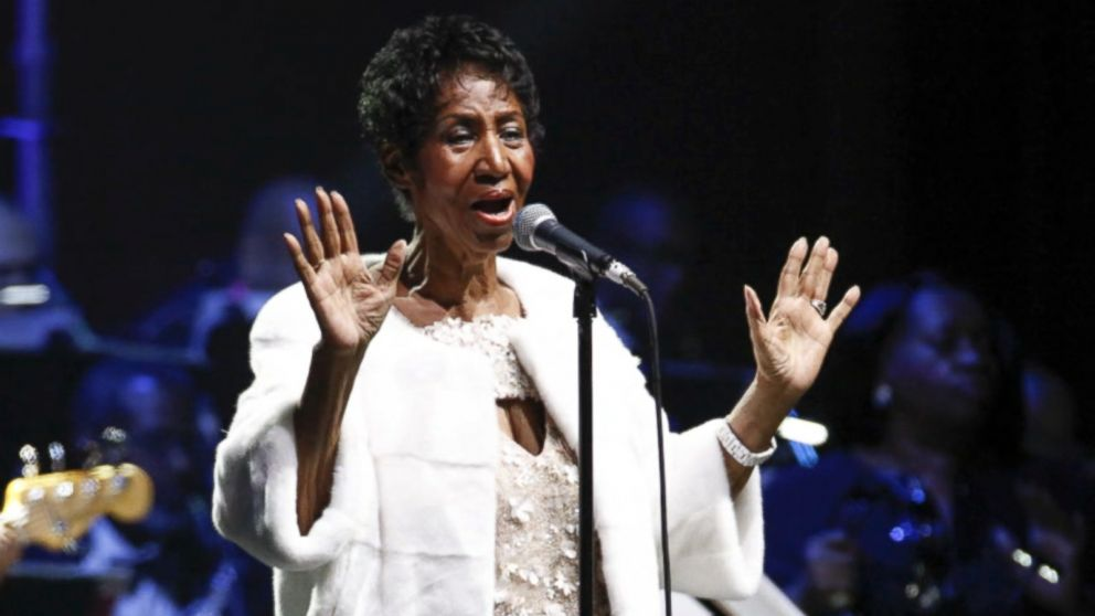 Prayers and well-wishes pour in for music icon Aretha Franklin