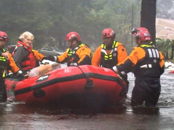 WATCH:  Death toll rises as Tropical Storm Florence moves further inland