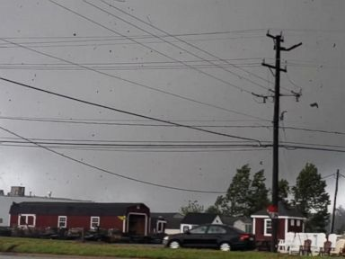 WATCH: At least 1 person killed after Florence triggers tornadoes in Va.