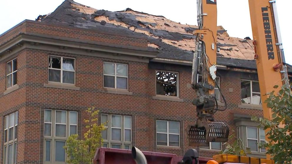 74-year-old man found alive in apartment after devastating fire Video - ABC News