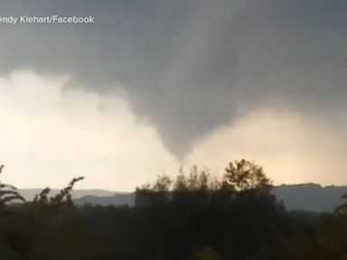 WATCH: Tornado reportedly makes direct hit at Pennsylvania nursing home