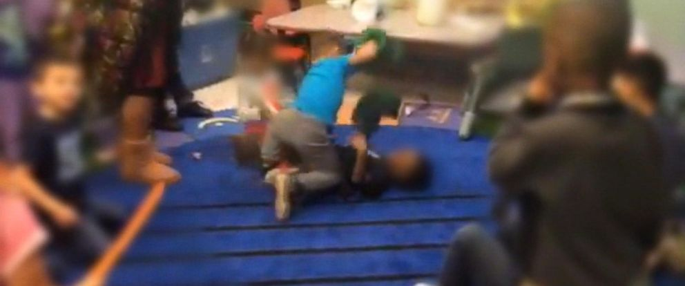 VIDEO: Mother sues day care, accuses staff of directing fight club